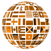 Sepia globe